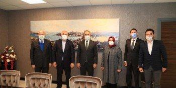 Sultangazi Belediye Başkanı Sayın Abdurrahman Dursun  Asgün Yapı Genel Merkezimize Ziyaret